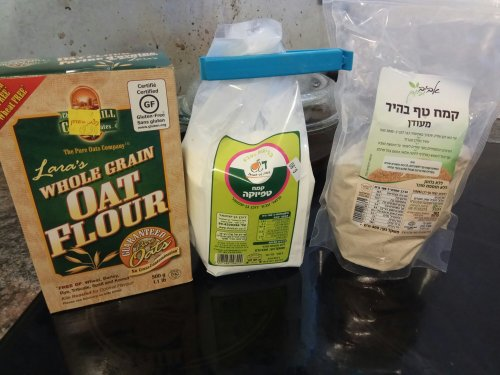 The three flours
